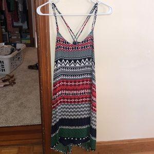 Joy Joy Geometric Print Dress